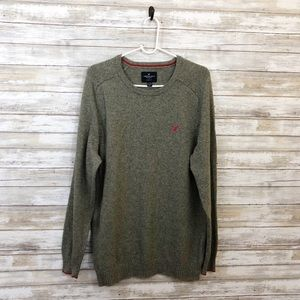 American Eagle Gray Sweater Size Large